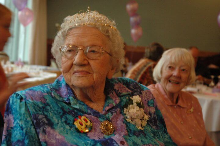 Happy 100th Grandma