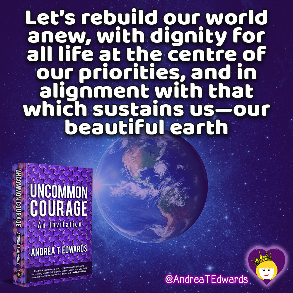 Let's rebuild our world anew, with dignity for all life at the centre of our priorities.